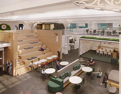 La Grand Poste - Interior Design
