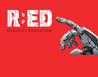 R:ED Branding | Robotics Education