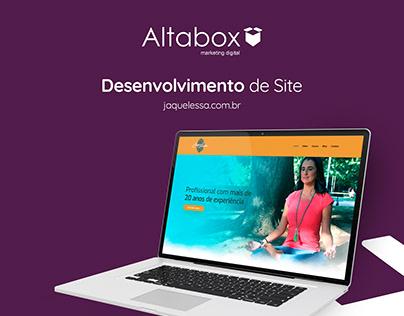 Desenvolvimento site - Jaque Lessa