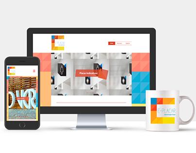 E-Placar - Redesign de marca