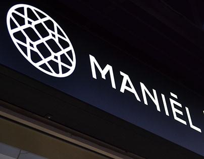 Maniel Bio Cosmetics / Logotype & Print