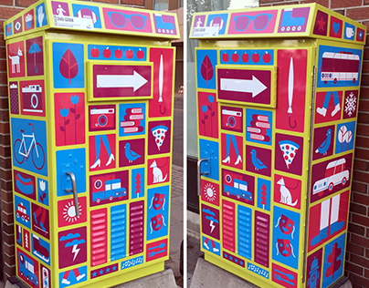 City of Regina Traffic Box