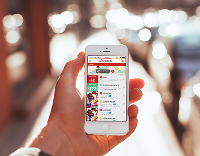 UI/UX design Médiacité app