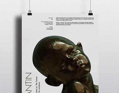 Constantin Brancusi Lecture Posters