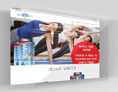 Drink Wahta UK Website