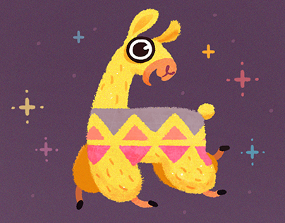 Hipster Llama Sticker Pack