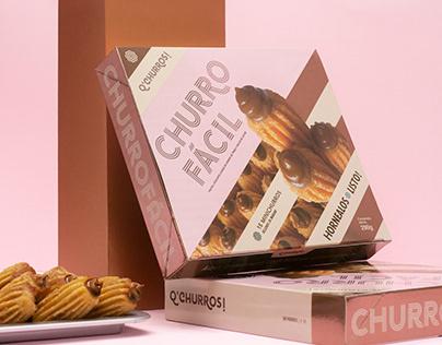 Churro Fácil | Packaging design
