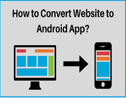 convert a website into a full-fledged Android app