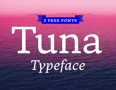 Tuna Typeface (2 free fonts)