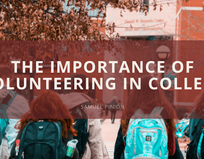 The Importance of Volunteering in College
