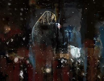 It snows, inside of me.