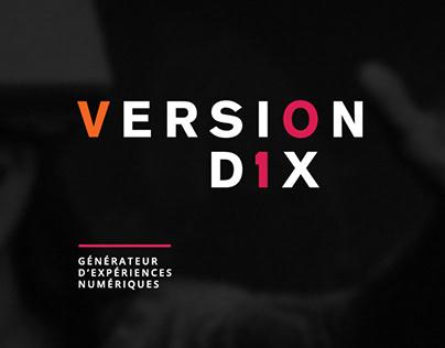 Version Dix / Logo et site web