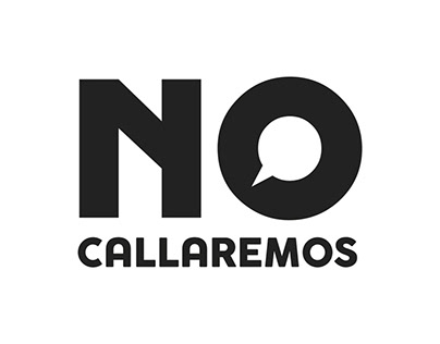 """No Callaremos"" Logos and system of posters"