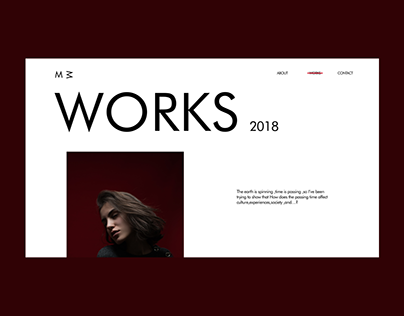 MM Works Page Animation