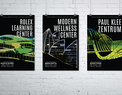 Swiss Architecture Posters