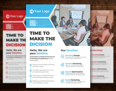 Corporate Flyer - Download Free PSD