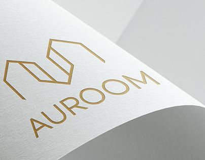 AUROOM   Branding element's design