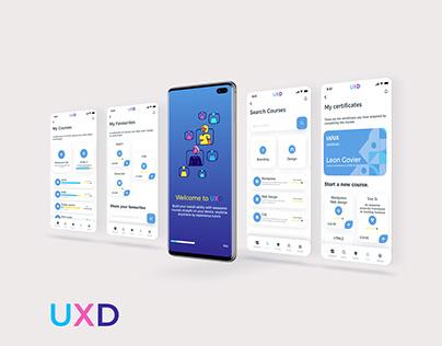 UXD Online learning App