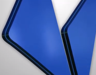 3D logo intro