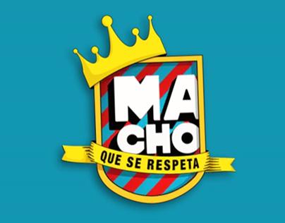 MACHO QUE SE RESPETA Logo