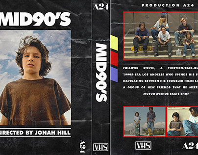 POSTER VHS MID90S