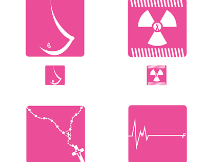 Breast Cancer Awareness Icon Study