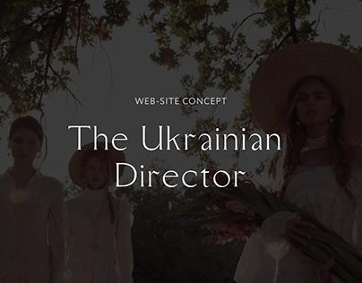 Website for famous Ukrainian director Taras Golubkov