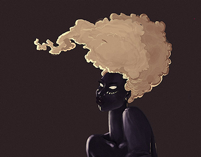 Afrique-Inspired Illustrations
