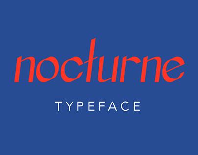 Nocturne typeface
