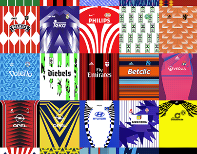 Classic Football/Soccer Jersey Patterns Pack – Part 1