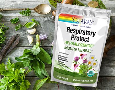 Packaging design for Dietary Supplement/Herbal lozenges
