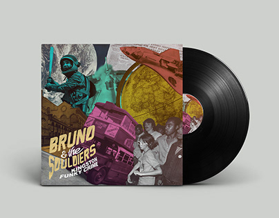 Bruno & The Souldiers – Kingston Funky Crime