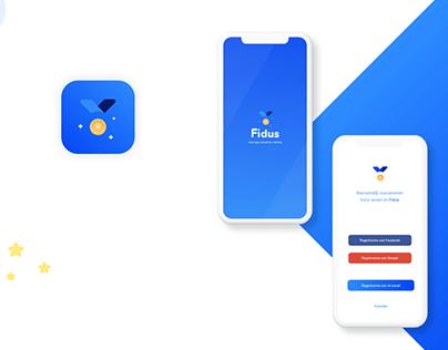 Fidus - Rewards System - Mobile app