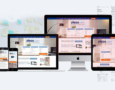 pisos.com Responsive Web Design