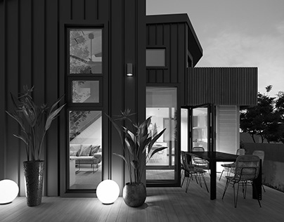 Interior, exterior project in Auckland, New Zealand