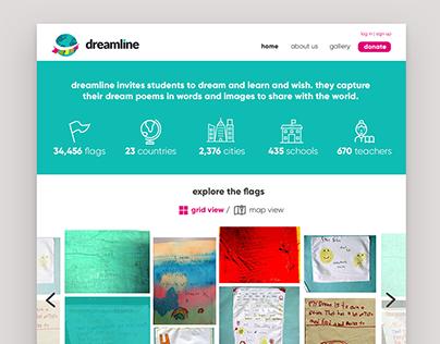 Dreamline Website UI