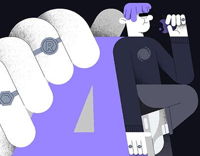 Cover illustration - Appelsap Selects