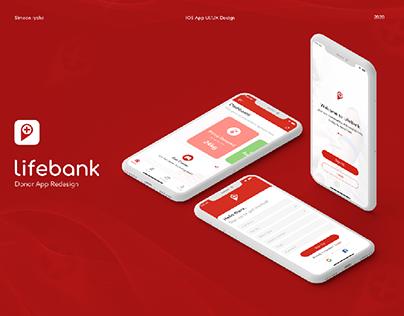 LifeBank Donor App Redesign