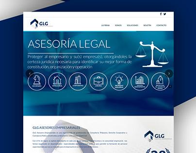 GLG Asesores Empresariales - WebSite