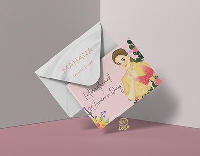 Greeting card Mahana