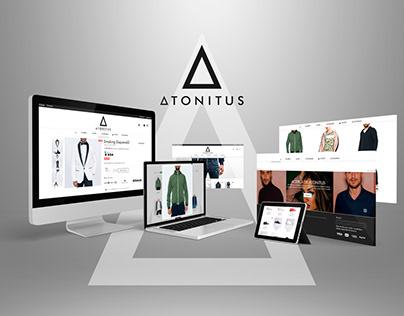 Atonitus Clothing eCommerce