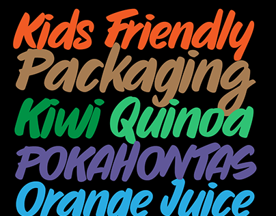 Sharpie Pro Typeface