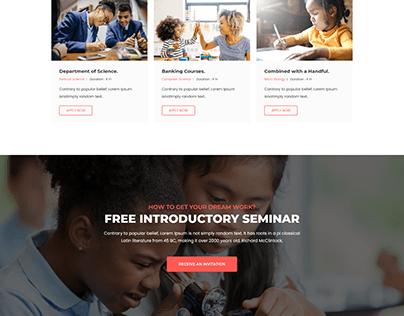 Eduhas - Education HTML Template
