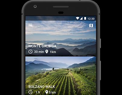 Monte Galbiga. App