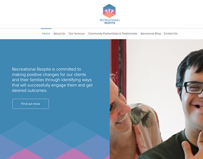 Recreational Respite Website