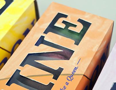Reine Macaron Packaging Design