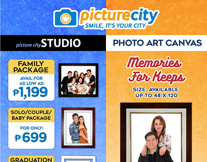 Tarpaulin Layout for Picture City Int'l Inc.