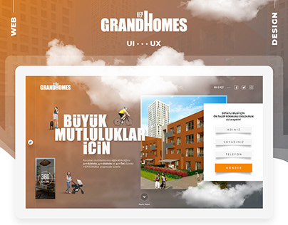 Tekfen - Grand Homes - Web Design