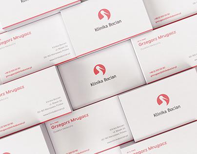 Klinika Bocian - Fertility Clinic Brand Identity