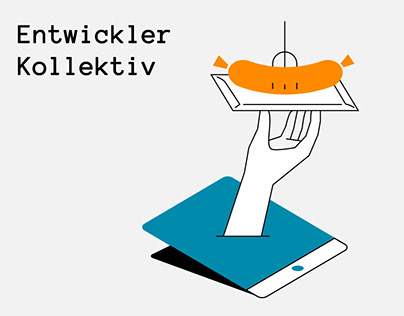 Illustrations for Entwickler Kollektiv